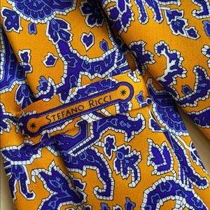 Authentic Stefano Ricci 💯% Silk Tie | Italy 🇮🇹